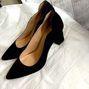 - Kelly and Katie black wedge heel size 8